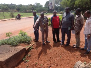 inspection of ziks drive replacement of pipes